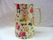 Readoute rose floral design 4 pint pitcher jug by Heron Cross Pottery