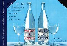 ▬► PUBLICITE ADVERTISING AD VITTEL Délices Vittelloise 4 pages 1955