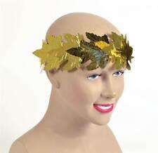 Roman Laurels. Gold leaf, Greek, Toga Party Headwear, Fancy Dress #US