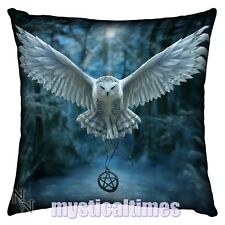 NEW * AWAKEN YOUR MAGIC * OWL ANNE STOKES CUSHION FROM NEMESIS NOW FREE POST