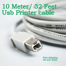 10 Meter 32F Ultima USB 2.0 A Male to B Male Moulded Printer Scanner Cable 10M