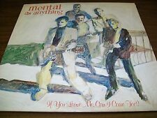 Mental As Anything-If You Leave Me-LP-A&M-SP 4921-OG Sleeve-Vinyl Record-NM