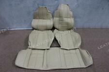 HOLDEN TORANA LX Sedan SLR 4 door  5000 CHAMOIS SEAT SKIN COVERS GOLFBALL
