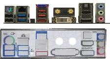 ATX diafragma i/o Shield asus f1a75-i Deluxe #409 Io nuevo embalaje original backplate New plate