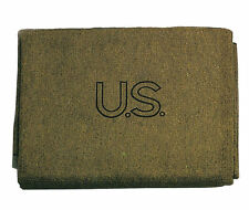 Olive Drab U.S. 70% Virgin Wool Blanket