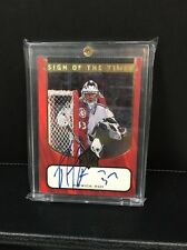 1997-98 SP Authentic PATRICK ROY Sign of the Times on card Auto, SSP!