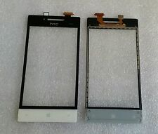 Glas Touch Touchscreen Digitizer Lens Scheibe Weiss für HTC Windows Phone 8S