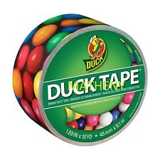 Gumballs Print ~ Duck Brand Duct Tape ~ Bubble Gum Printed Series ~10yds