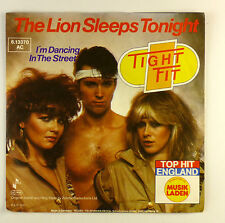 "7"" Single - Tight Fit - The Lion Sleeps Tonight - #S1028 - washed & cleaned"