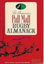 ROTHMANS Pall Mall Rugby EFFEMERIDI 1965-sa come Nuova Zelanda