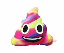 Colorful Poop Smile Emoji Pillow Emoticon Princess Cushion Soft Plush Toy Doll