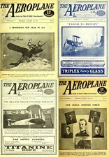 576 RARE ISSUES Of THE AEROPLANE MAGAZINE (1911-1922) EARLY AVIATION ON DVD