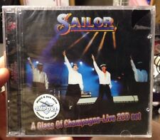 SAILOR - A GLASS OF CHAMPAGNE: LIVE [2 X CD] NEW Import
