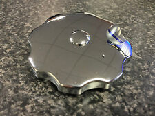 A.J.S. MATCHLESS FUEL  PETROL TANK CAP CHROME PLATED BRAND NEW