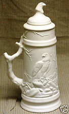 Ceramic Bisque Eagle Stein Georgies Mold 500 U-Paint Ready To Paint