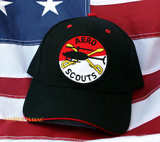 AERO SCOUTS CAVALRY DIVISION CAP HAT US ARMY PIN UP WOWAH CAV TROOPS FORT OH WOW