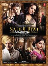 SAHEB BIWI AUR GANGSTER RETURNS - OFFICIAL BOLLYWOOD DVD - FREE POST