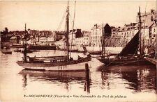 CPA Douarnenez (Finistere) - Vue d'ensemble du Port de peche (252580)