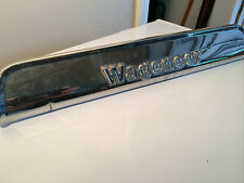 Jeep Grand Wagoneer Chrome Tailgate emblem trim plate - OEM FSJ