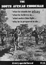 NEW A4 PRINT OF OLD POSTER SOUTH AFRICAN RHODESIAN SPECIAL BREED ARMY