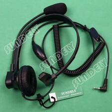 New Over-Head Earpiece/Headset Boom Mic VOX For Cobra Radio CXT85 CXT88 CTW285P