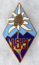 INSIGNE INFANTERIE - 159° Régiment d'Infanterie Alpine
