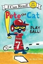 Pete the Cat: Play Ball! (My First I Can Read)-ExLibrary