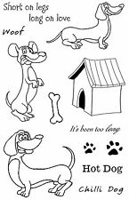 Hot Dogs Rubber Stamp Set SA-6087