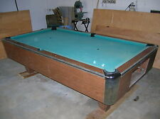 Vintage American Shuffleboard Pool Table New Jersey USA