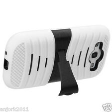 Samsung Galaxy S3 i9300 Hybrid H Armor Hard Case Skin Cover w/Stand White Black