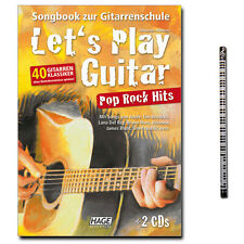 Let's Play Guitar Pop Rock Hits, 2 CDs, MusikBleistfit - EH3851 - 9783866262973