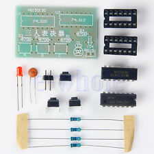 DIY Kit 3-Voters Voting Electronic Soldering Components Suite 45mm*28mm PCB K6