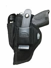 Nylon Hip Belt Gun holster for Smith &Wesson M&P SHIELD 9mm & 40 Caliber