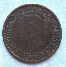 1858 Canada One Cent Very Good