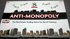 Board Game - ANTI-MONOPOLY - The Real Estate Trading Game for the 21st century