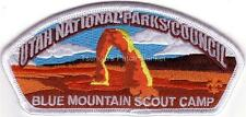 Utah National Parks Council SA-NEW 2015 CSP White bdr Buck Hollow Scout Ranch