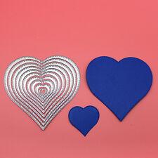 Craft Metal Cutting Dies Handmade Card Heart Frame Die Cutter Set DC1210