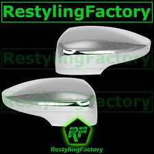 12-15 Ford Focus w/turn signal ABS Triple Chrome plated Mirror cover 1x pair