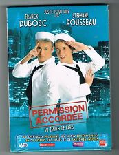 FRANCK DUBOSC & STEPHANE ROUSSEAU - PERMISSION ACCORDÉE - COFFRET 2 DVD NEUF