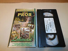 Tested ! VHS Trade Secrets of the Pros Hunting Buck Deer Lohman Lures Tree Stand