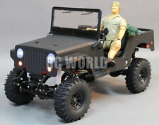 Rc4wd Custom TRAIL STOMPER All Metal JEEP WRANGLER W/ STEVE ERWIN + ALLIGATOR