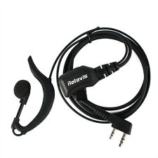 Retevis R-111 G Type PTT Earpiece Headset ABS 1M/PU For Kenwood Baofeng US Ship
