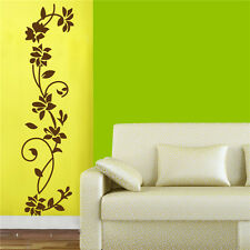 Removable Flowers Wall Sticker Decal Vinyl Wall Art Mural Living Room Decors