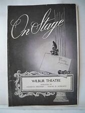 THE CARETAKER Playbill ALAN BATES / ROBERT SHAW / DONALD PLEASENCE Tryout 1961