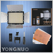 Yongnuo 300pcs LED Video Light YN-300 III 5500k for Camera Camcorder w/IR Remote