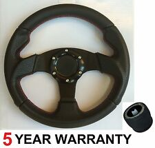 280MM SMALL SPORTS RACING STEERING WHEEL AND BOSS KIT FIT VW GOLF GTI MK3 TEAM