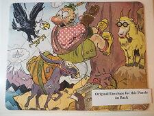 VINTAGE PUZZLE 1930s PROCTER & GAMBLE AKRON OH PAPER PRODUCTS OSCAR QUACKENBUSH