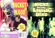 Bucket of Blood/ Night of the Living Dead (DVD, 2006)