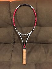 WILSON K Factor K Six-One 95 head 16x18 4 3/8 grip Tennis Racquet Federer