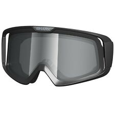SHARK RAW/VANCORE MOTORCYCLE HELMET GOGGLE LENSE IRIDIUM CHROME - LENS ONLY